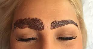 Eyebrow, tint, eyebrow tint, eybrow dye, mobile beauty treatment, mobile beauty, mobile beauty by Lidiya,