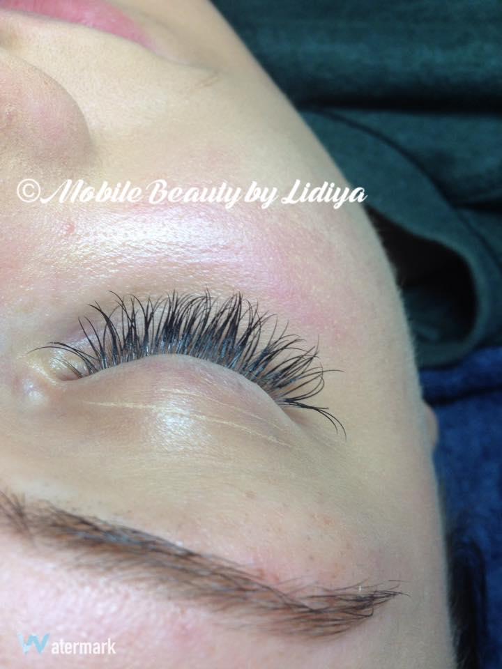 Individual Eyelash Extentions St Albans Mobile Beauty By Lidiya