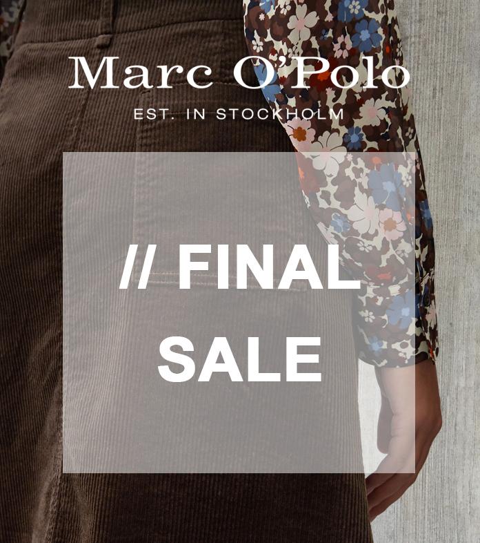 MARC O'POLO Final Sale