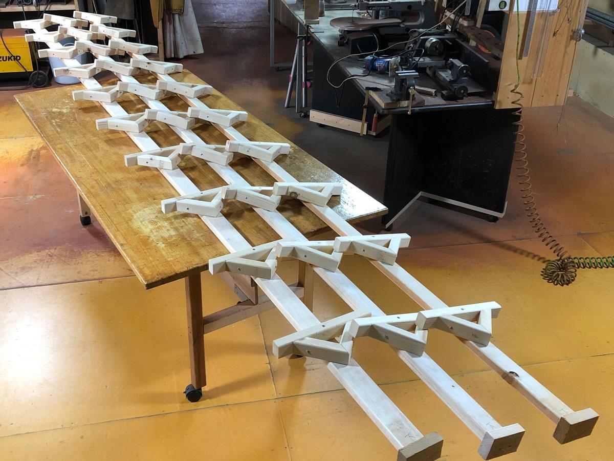 木製ラダーの作り方