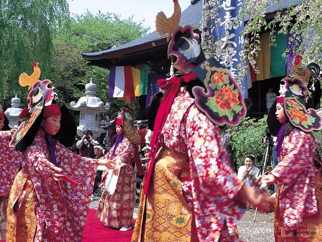 天台寺春期例大祭