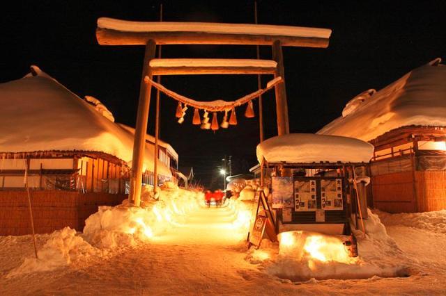 大内宿雪まつり