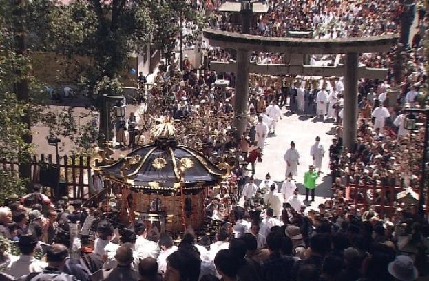 鹽竈神社帆手祭