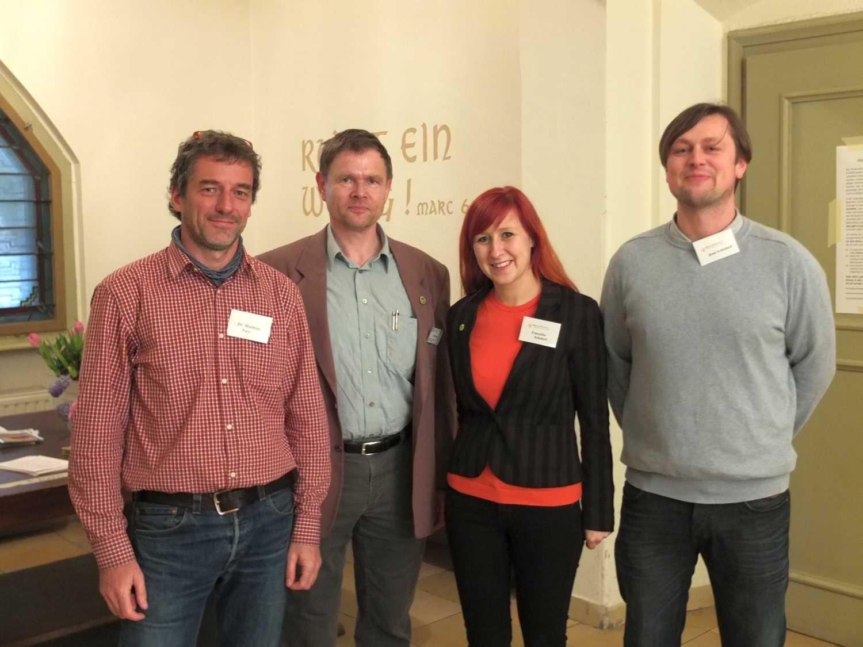 Dr. Matthias Nuß | Dr. Jens Radtke | Franziska Schubert | René Schieback