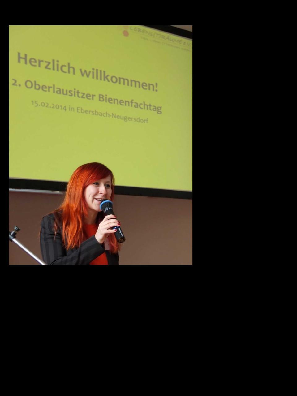 Eröffnung des Bienenfachtags | Franziska Schubert