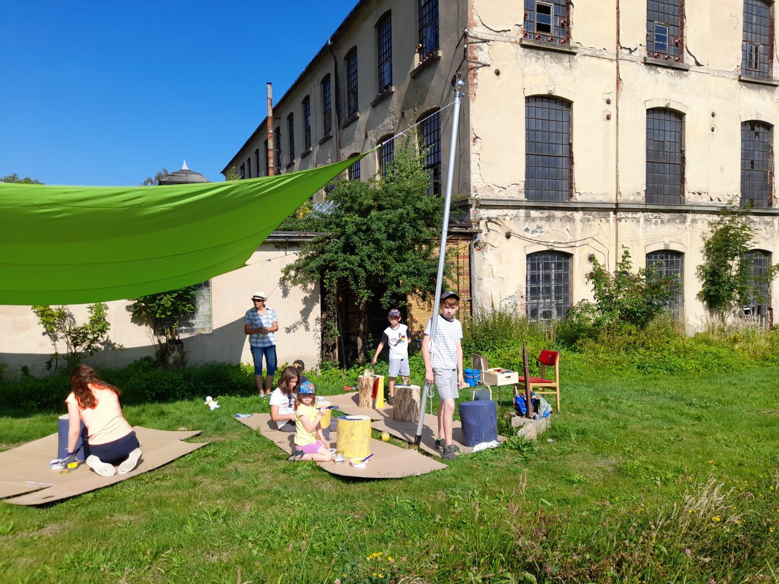 Ferientag 1: Waldgarten und Grünes Klassenzimmer