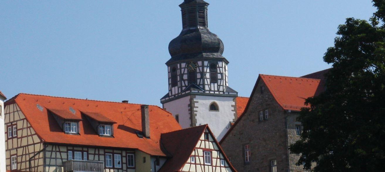 Gochsheim Fachwerk Kirchtrm