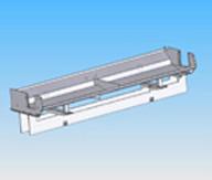 3D Modell eines Bauteils das für das Laserschweissen optimiert wird