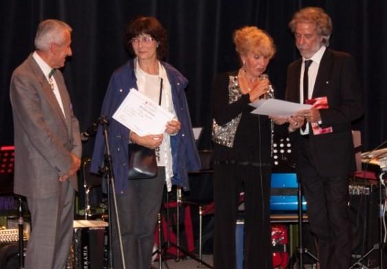 Remise du Prix Animalier par Wadis De Donker et J.J. Lascaux (Artistes et membres de B.A.I.) -Bondy