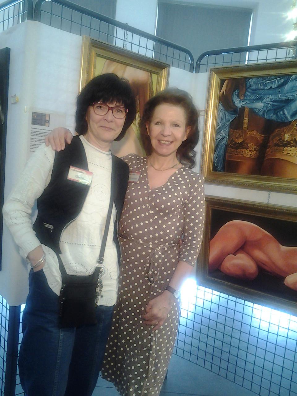 Nicole Marbaise et moi-même - Belgique