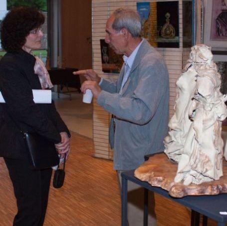 Exposition à Louvres (Val d'Oise)