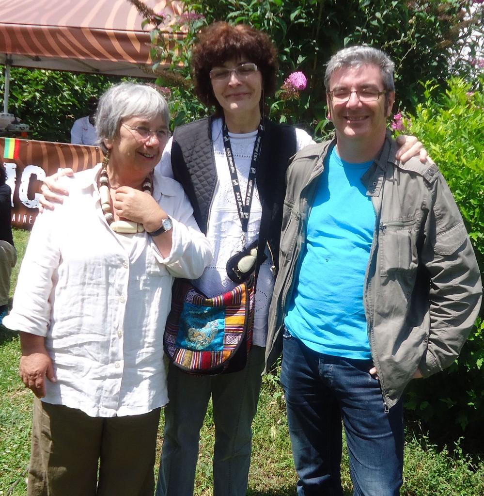 Les trois compères Babou, Kinou, Phil - Curzon