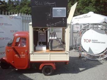 Dreirad, Kaffeedreirad, Piaggio Ape, Espresso-Ambulanz, Coffee-to-go