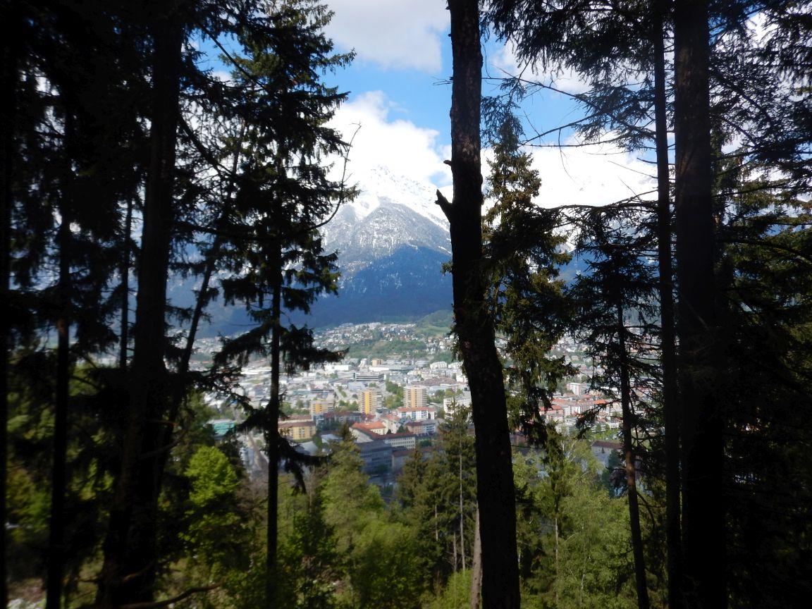 Innsbruck Alpine - Auf den weg zur Sillschlucht
