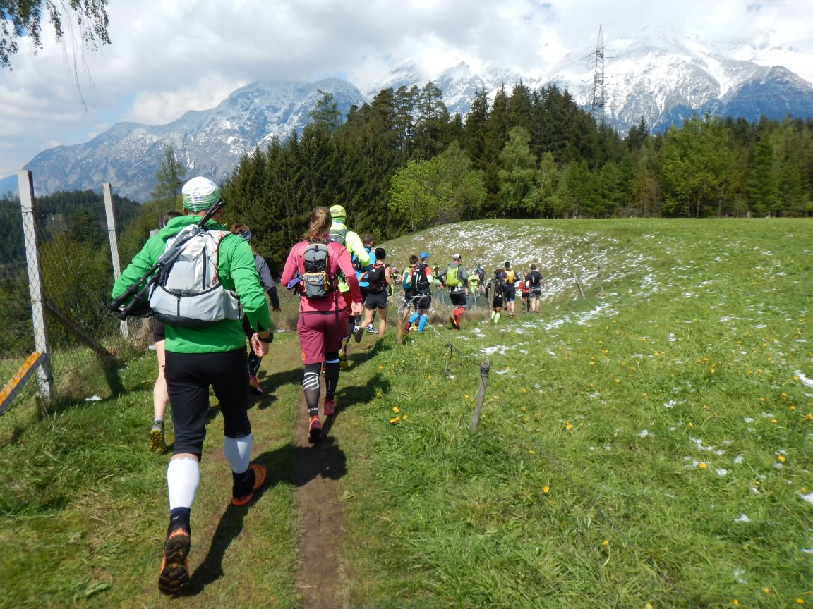 Innsbruck Alpine - Kurz nach den Start