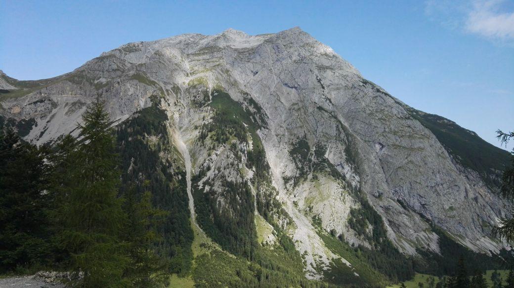 Karwendelmarsch 2017 - Der weg zum Binssattel