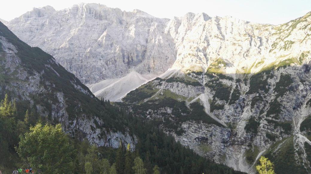 Karwendelmarsch 2017 - Aufstieg zum Karwendelhaus
