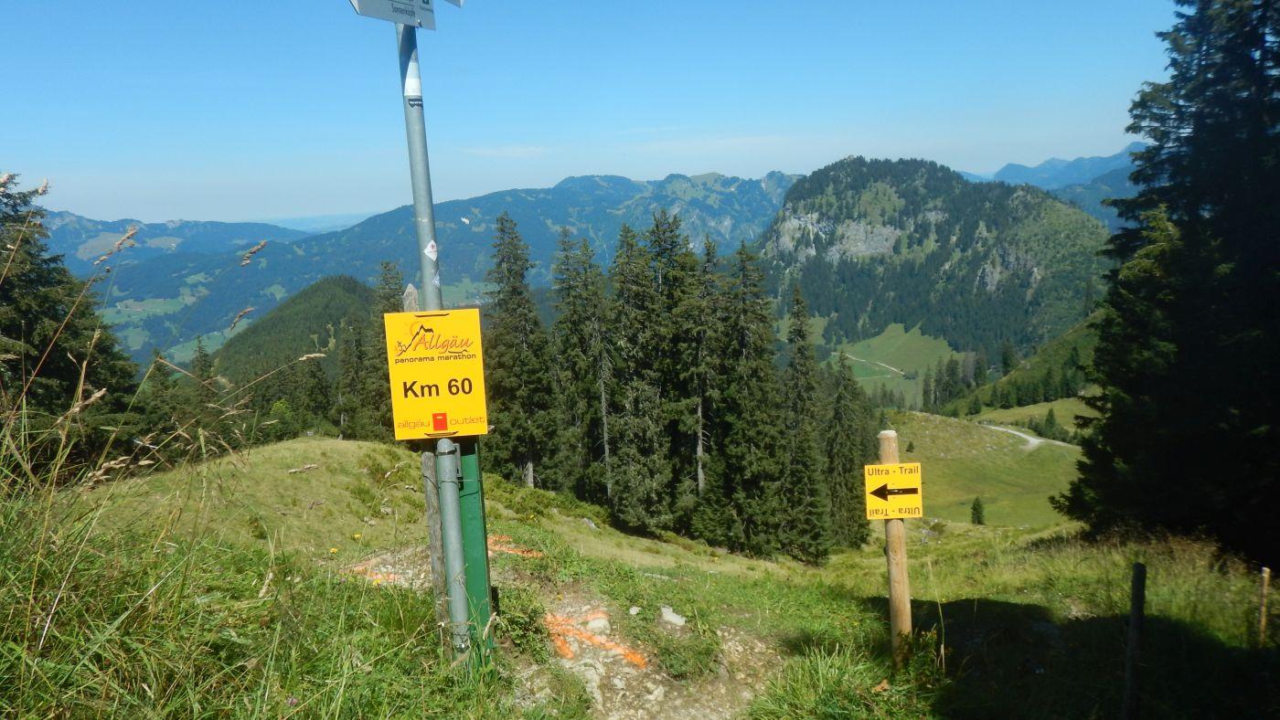 """Km  60 jetzt geht es """"nur"""" noch Bergab in das Ziel..."""