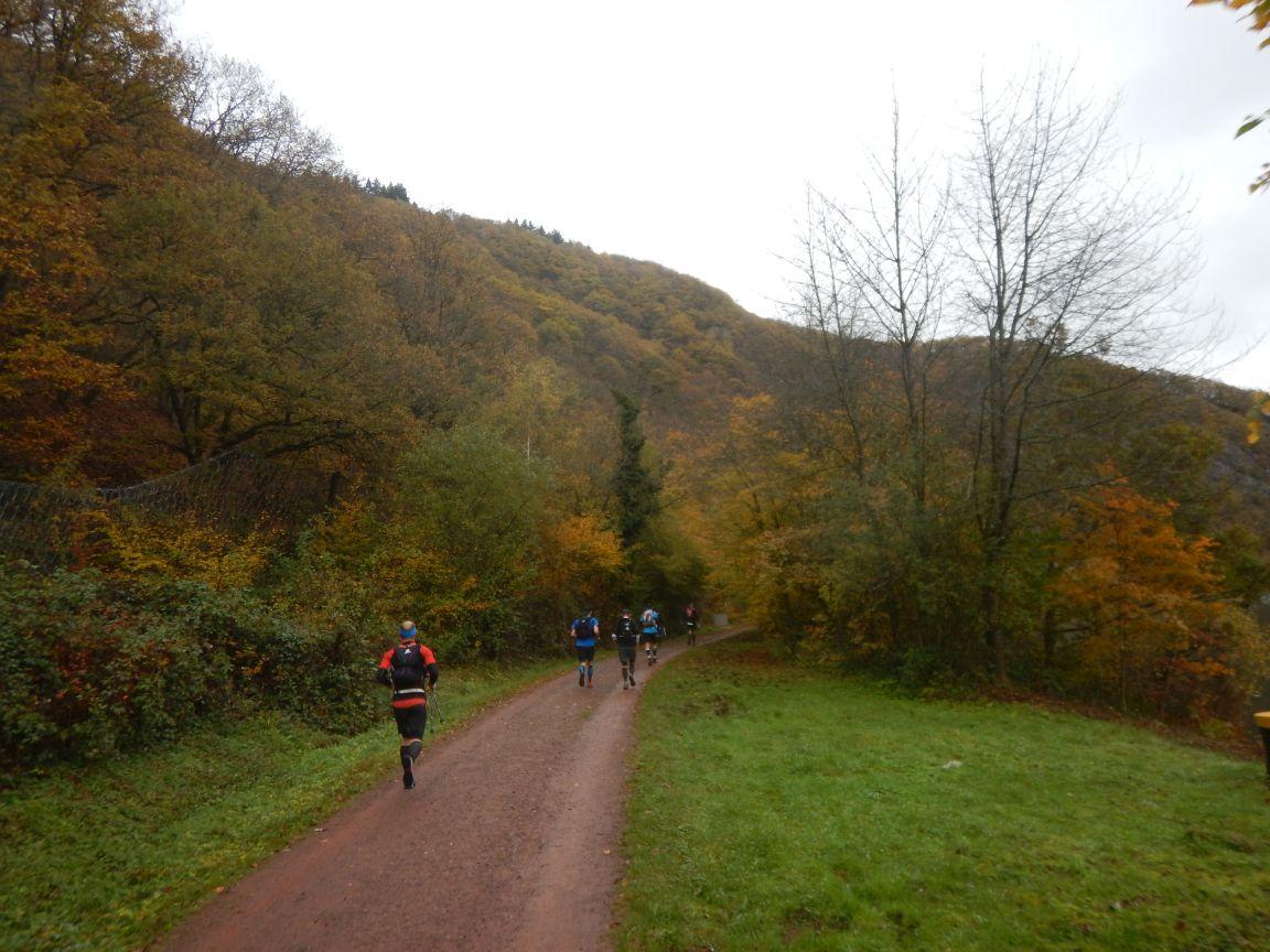 Saarschleifetrail - Wieder unten an der Saar
