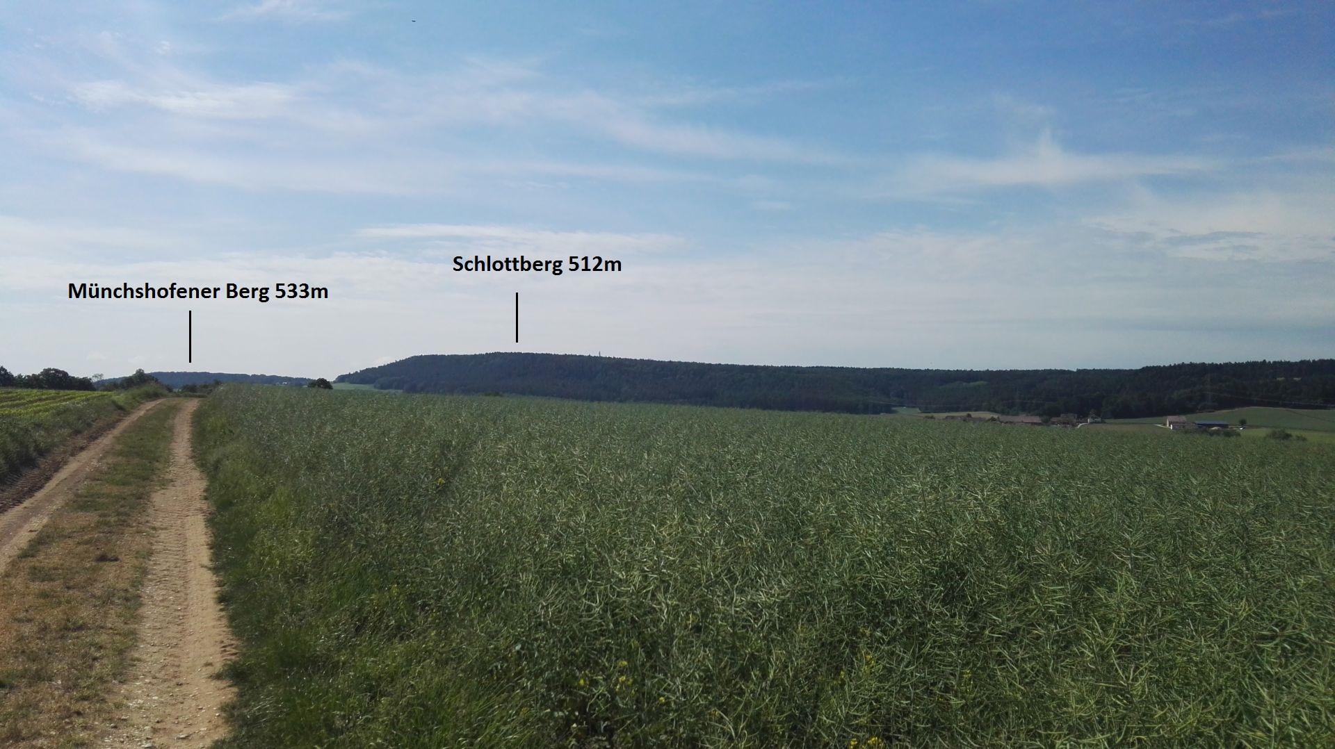 Auf den weg zum Schlottberg
