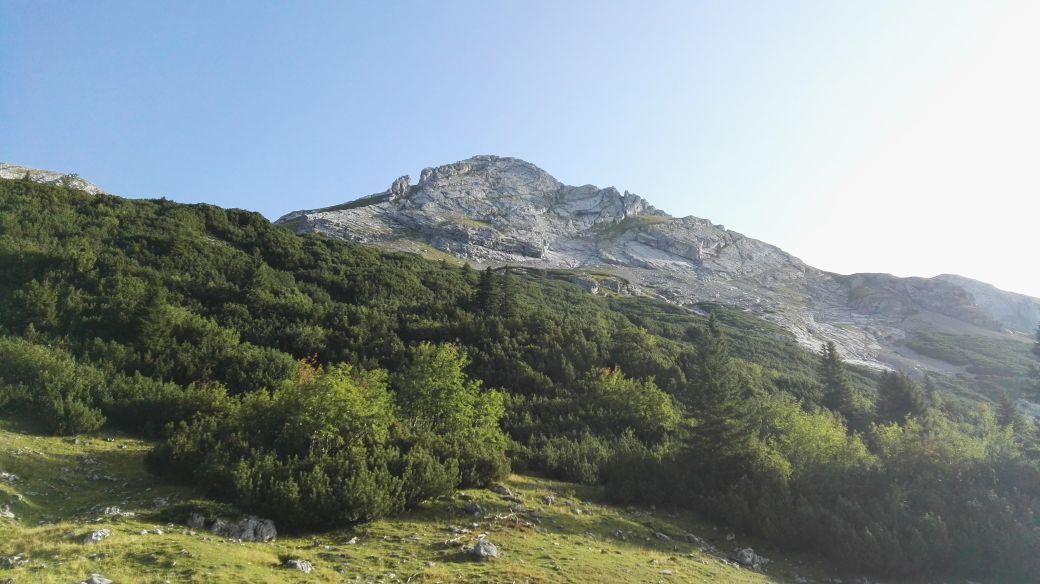 Karwendelmarsch 2017 - Weiter zum Kleinen Ahornboden