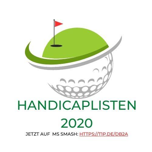Handicaplisten 2020 - Die Top-Golfer der Region