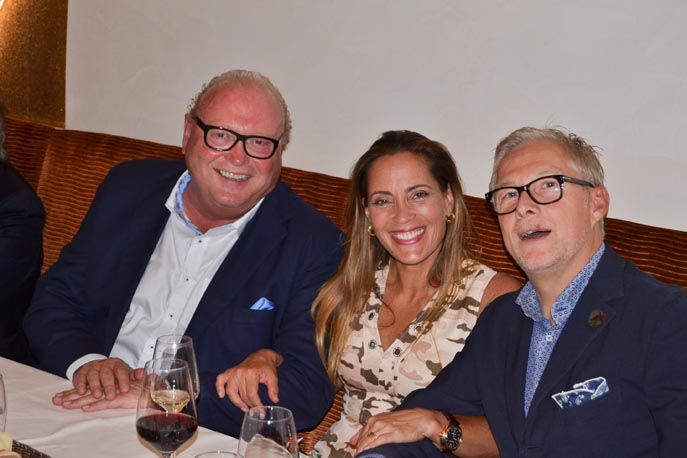 Bernard Homann, Carolina Campos und Matthias Wehrs