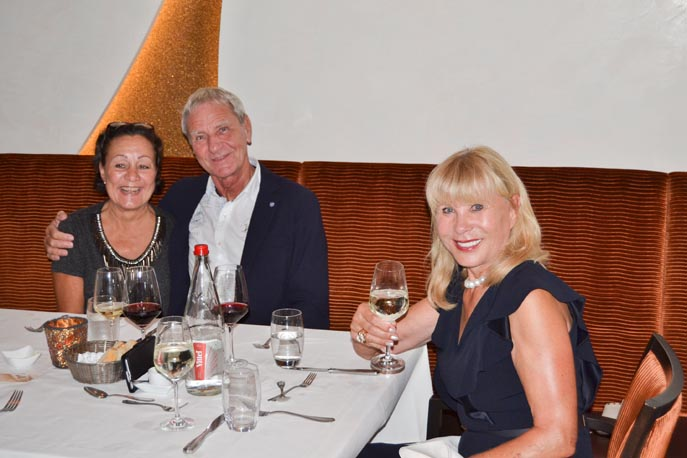 Claudia Jansen-Schulz, Peter Wiegel und Grit Brück