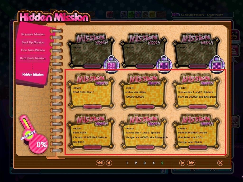 Alle Beat Rush Hidden Missions sind freigeschaltet!
