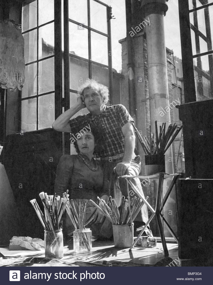 Chagall in New York, 1941