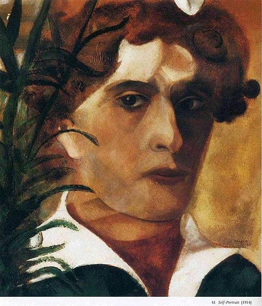 Zelfportret, 1914