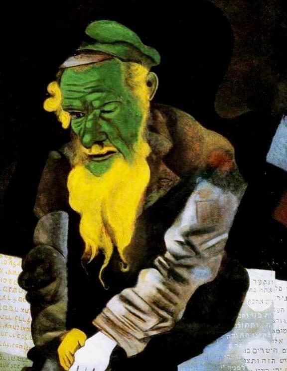 The green Jew, 1914