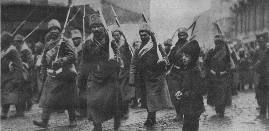 De uitbraak van de Eerste Wereldoorlog