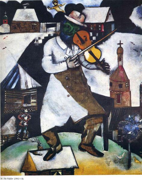 The fiddler, 1912