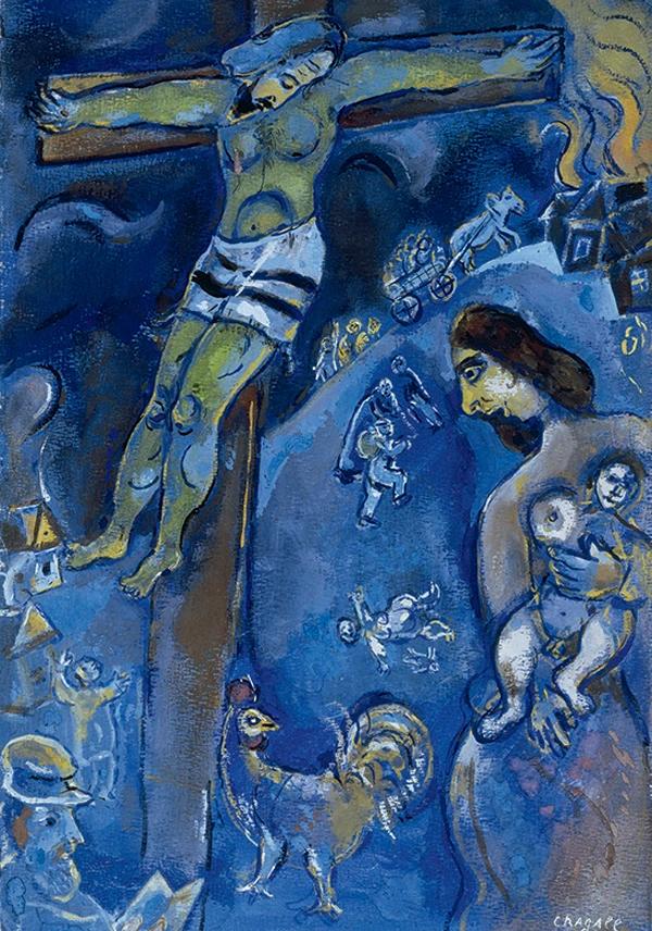 Een van de vele 'crucifixions' uit 1941