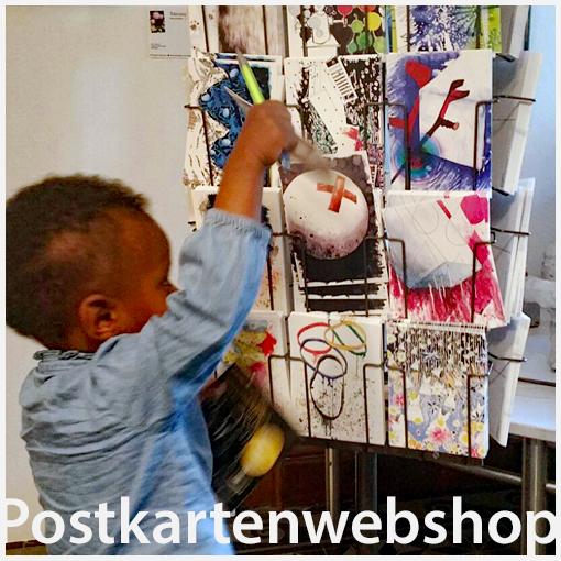 Im web-shop Postkarten mit Motiven der mehr als 100 Wunschbilder von Kirsten Klövckner