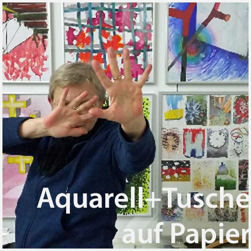 Kirsten Klöckner fragt nach Wünschen und malt Aquarelle, ein Konzept, ein Projekt - und es kommen Wunschbilder dabei heraus.