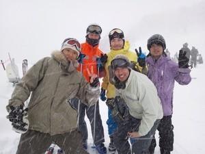 スキー旅行-in岐阜