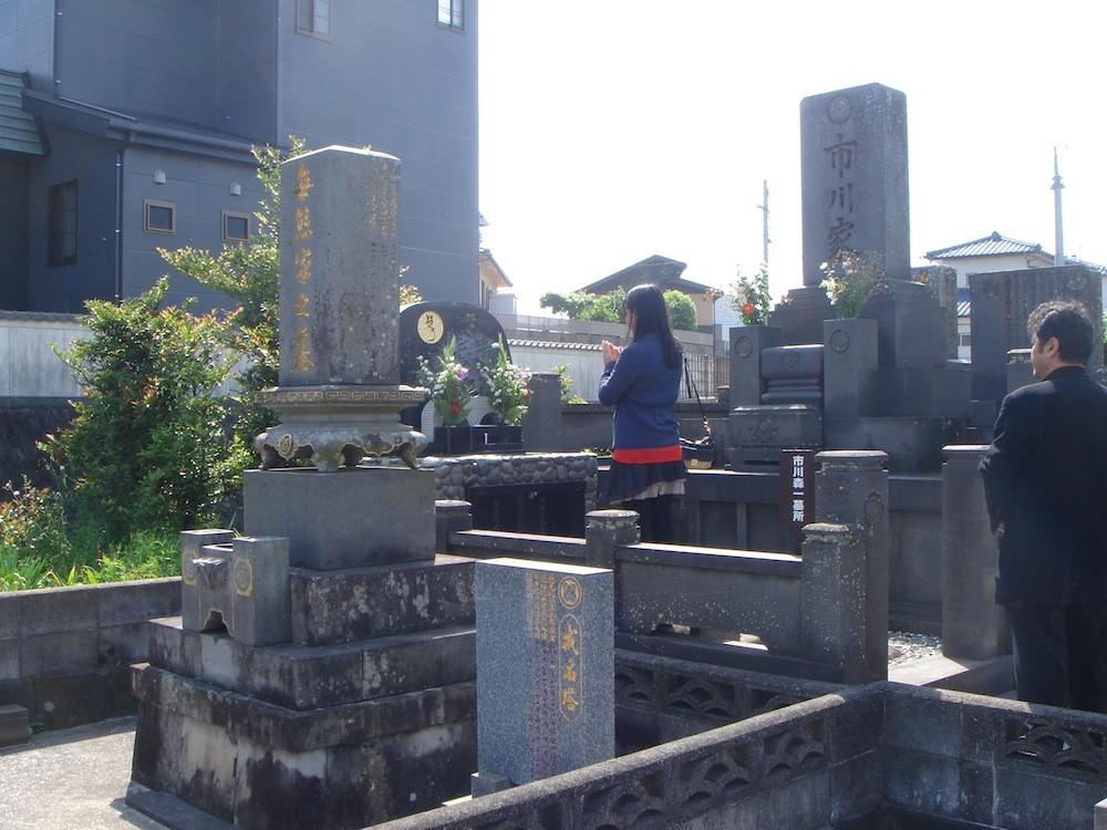 長崎にて市川森一さんのお墓参りへ