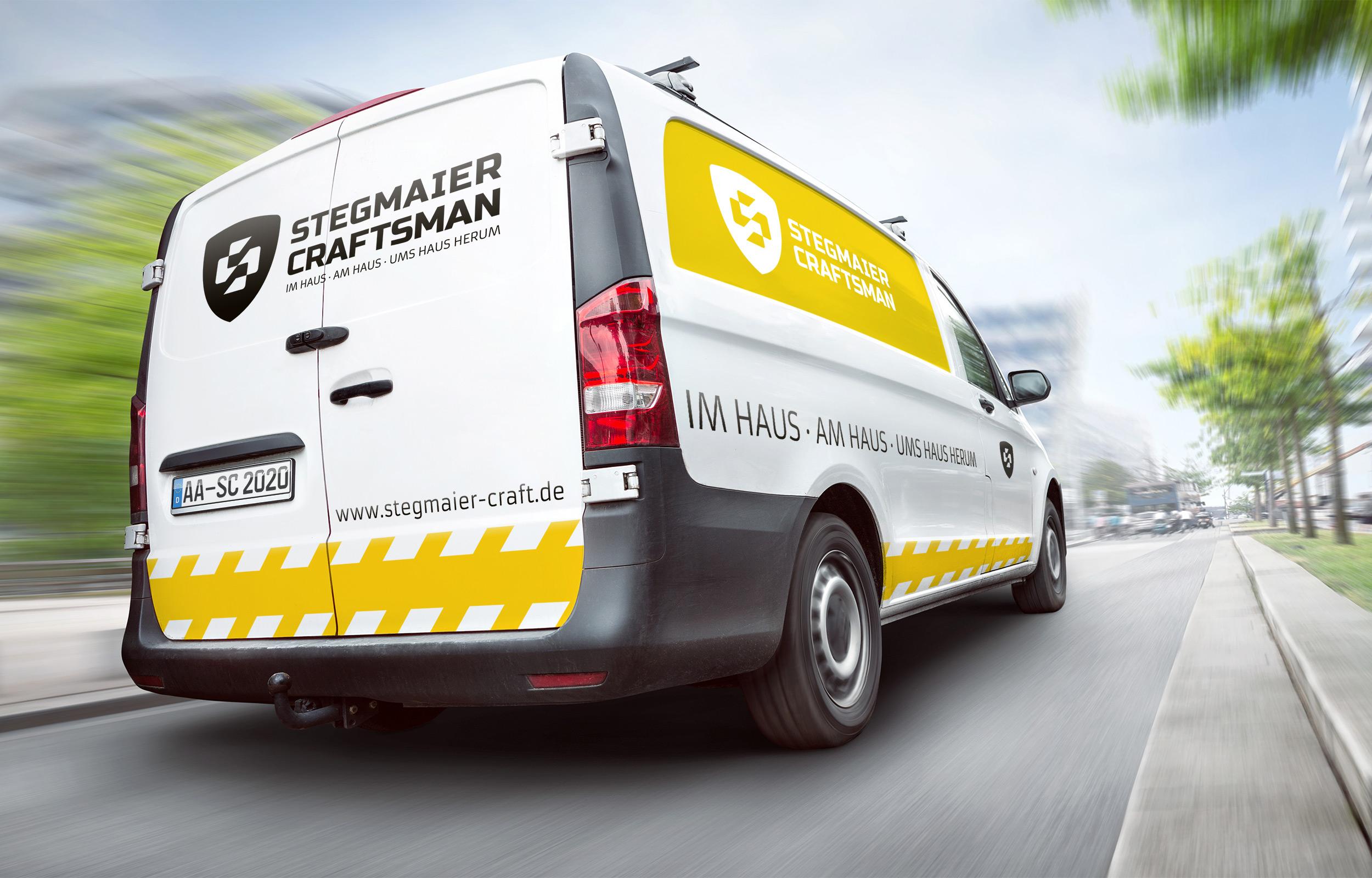 Stegmaier Craftsman Fahrzeugbeschriftung