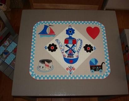 Detail tafel