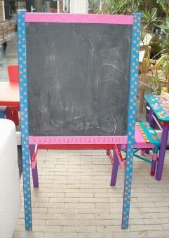 Schoolbord retro
