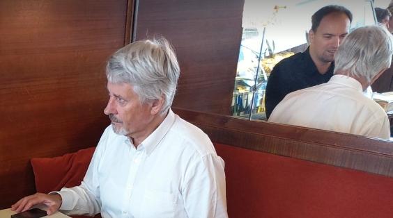 Friedhelm Frischenschlager im Gespräch mit Dietmar Pichler