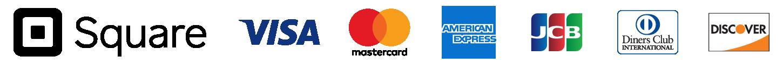 各種クレジットカード 利用可能