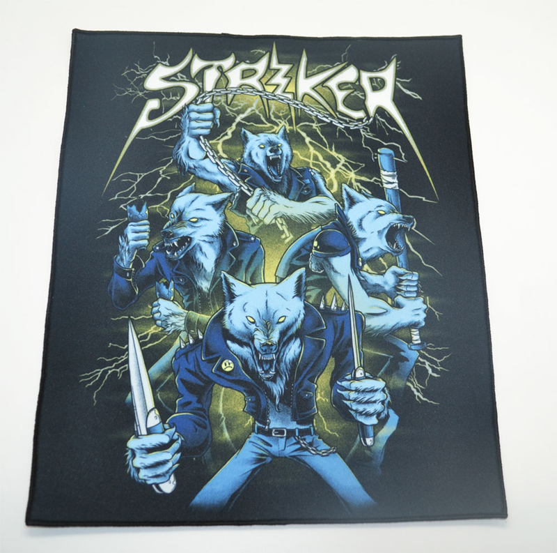 Rückenaufnäher / Backpatch Striker