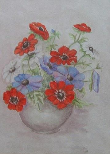 Feldblume in Vase 1997