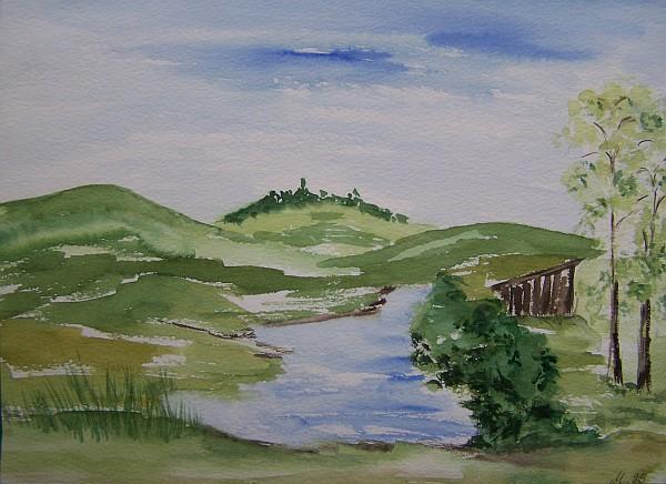 Grüne Landschaft 1995