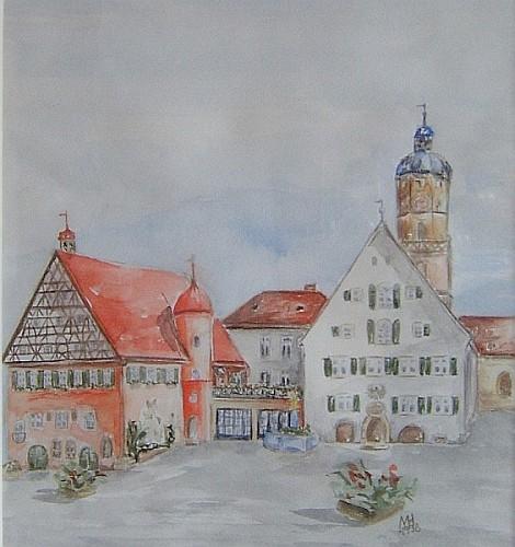 Marktplatz in Bopfingen 1998