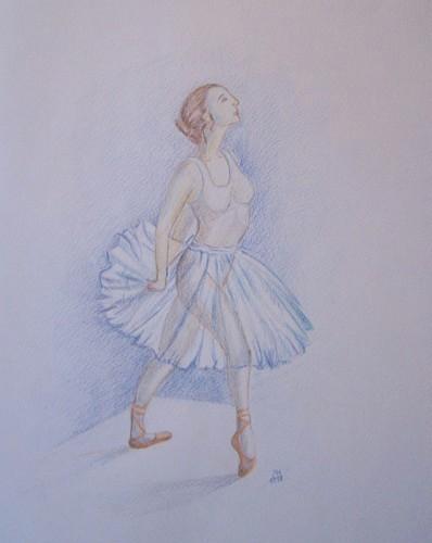 Ballettänzerin 1998