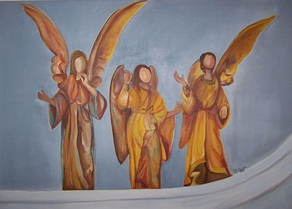 Engel an der Krippe 2009